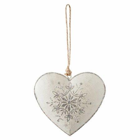 Clayre & Eef Hanger heart 10*1*11 cm