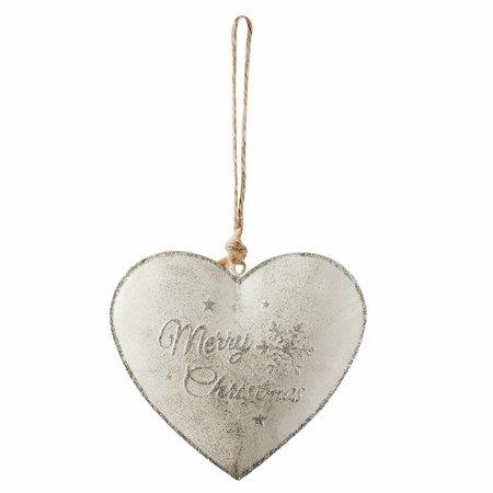 Clayre & Eef Hanger heart 11*2*12 cm