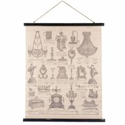 Clayre & Eef Wall map 79*2*110 cm