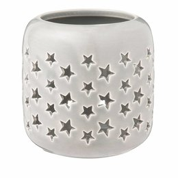Clayre & Eef Tealight holder Ø 9*9 cm