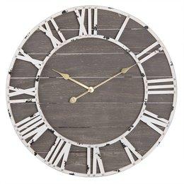 Clayre & Eef Clock Ø 70*4 cm / 1xAA