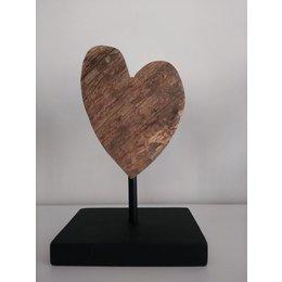 VON223 Houten hart