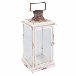 Clayre & Eef Lantern 19*19*43 cm