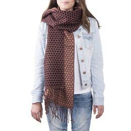 Clayre & Eef JZSC0363R Sjaal Dots