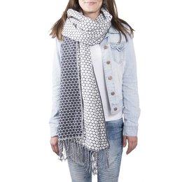 Clayre & Eef JZSC0363G Sjaal Dots