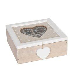 Tea box 18*18*7 cm