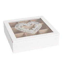 Tea box 24*24*7 cm
