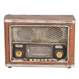 Money-box radio 24*10*16 cm
