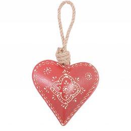 Hanger heart 10*10 cm