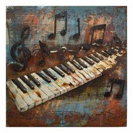 JJWA00071 Wanddecoratie (piano)