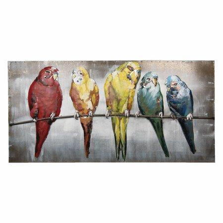 5WA0113 Wanddecoratie (vogels)