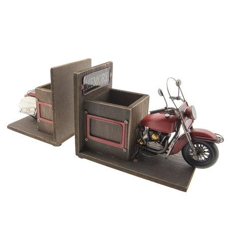 MO0023 Motor/boekensteun/penhouder