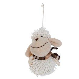 Clayre & Eef Hanger sheep 8*8*12 cm