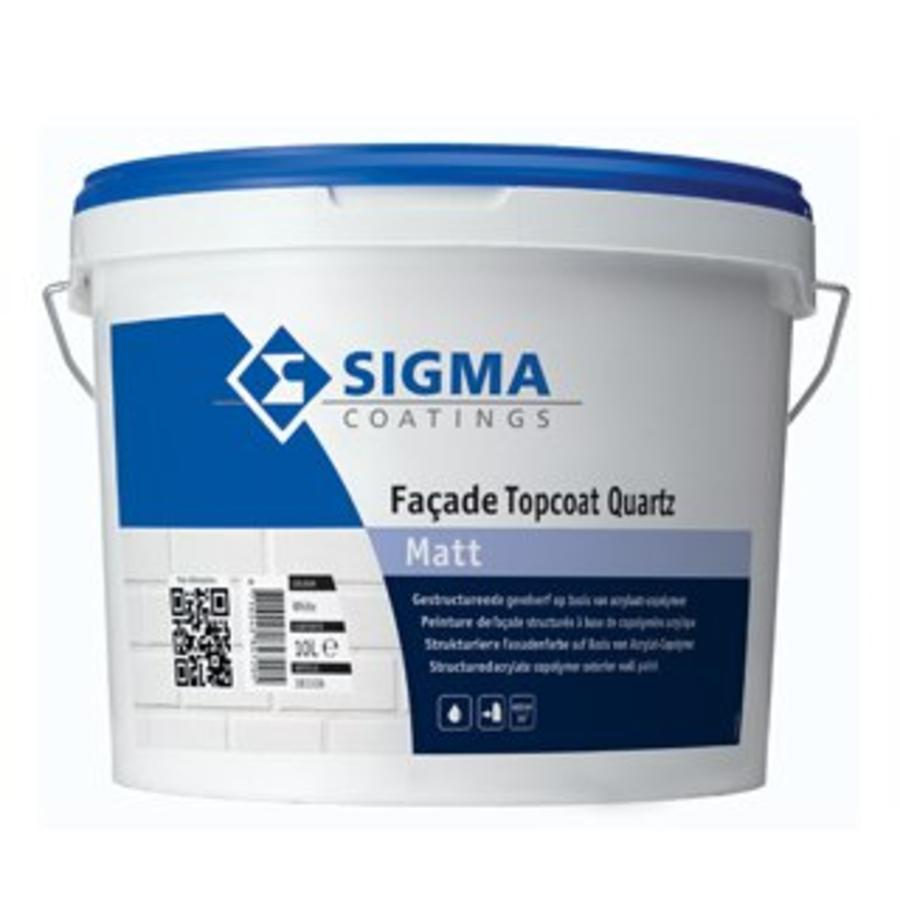 Sigma Facade Topcoat Quartz Matt 10 liter