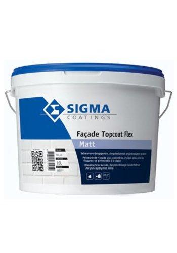 Sigma Facade Topcoat Flex Matt 10 liter