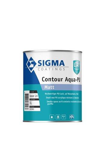 Sigma s2u nova matt en Sigma Contour Aqua PU Matt