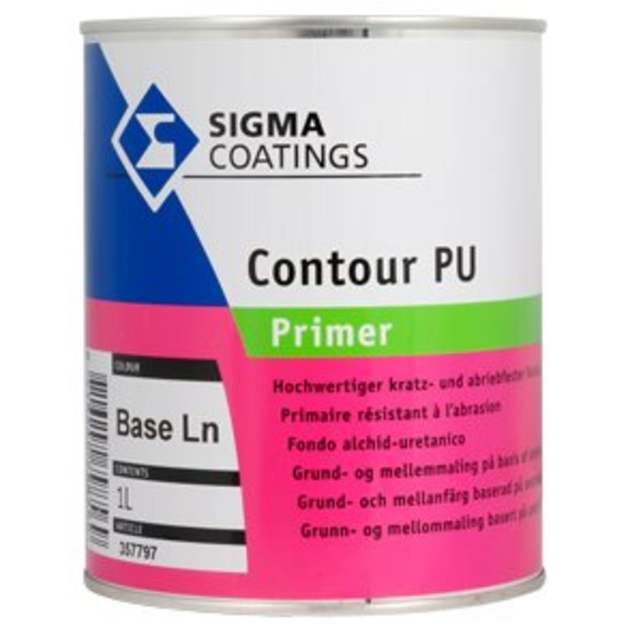 Sigma Contour PU primer en Sigma Vorlack matt