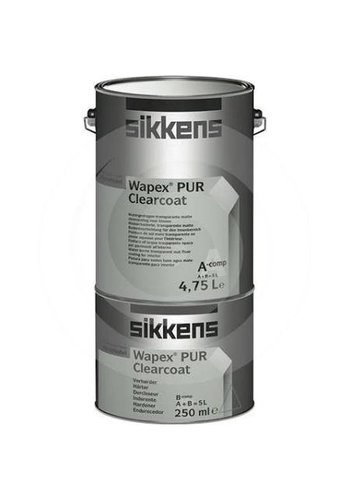 Sikkens Wapex Clearcoat 2.5 liter