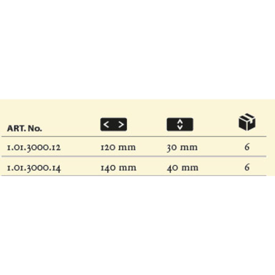 Staalmeester blokwitter Serie 3000-XL