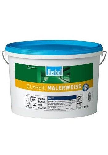 12.5 liter Herbol Classic Malerweiss (AANBIEDING)