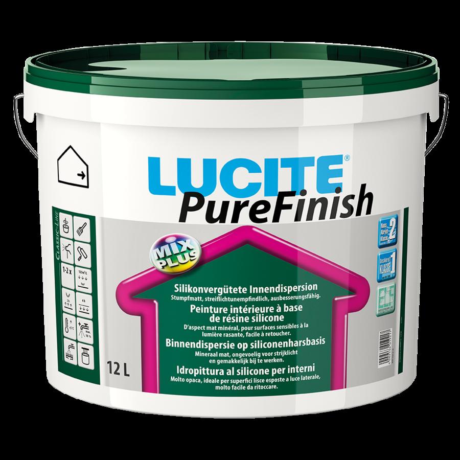 Lucite Pure Finish 12 liter (ZEER GESCHIKT VOOR PLAFOND)