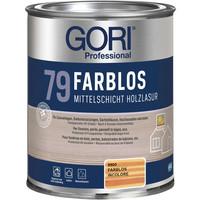 Gori 79 kleurloos met UV protectie