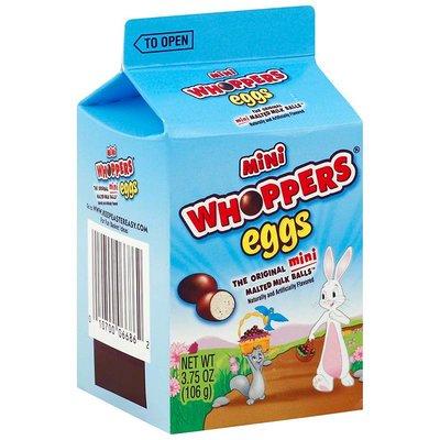KORTERE THT: Hersheys Mini Whoppers Eggs