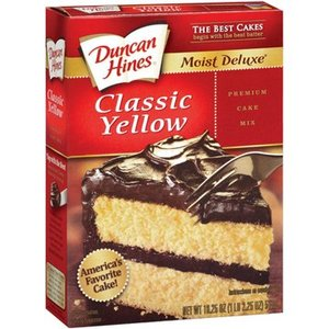 Duncan Hines Classic Yellow Moist Cake Mix