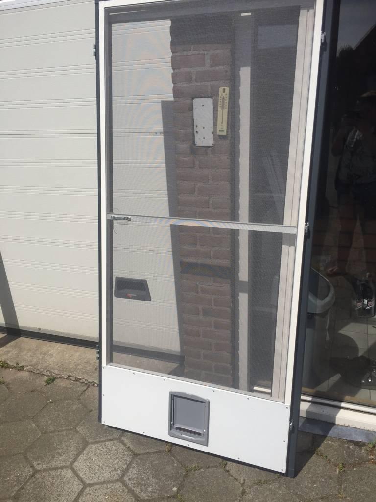 Top Scharnierende Hordeur Kattenluik op maat bij HorrenWeb.nl AM36