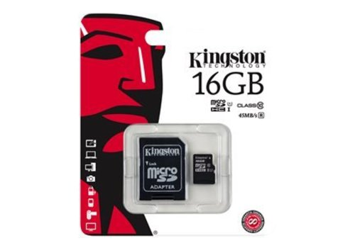Kingston 32 GB flash geheugenkaart dashcam