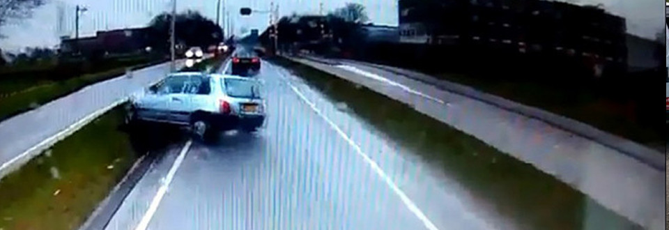 Man die chauffeur beschuldigt veroorzaakt zelf ongeluk