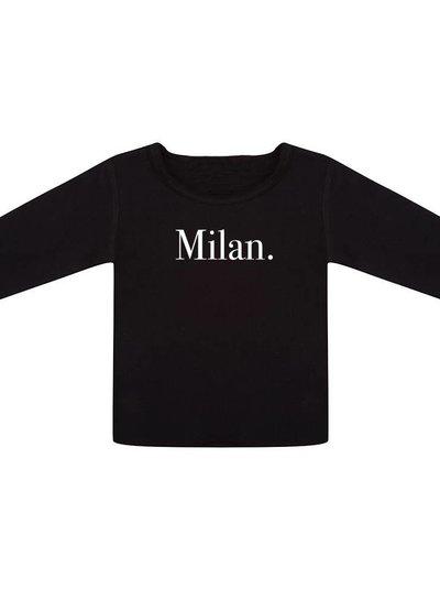 Longsleeve Milan black - Universe.