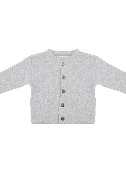 Baseball Jacket Sky High - Grey Melange