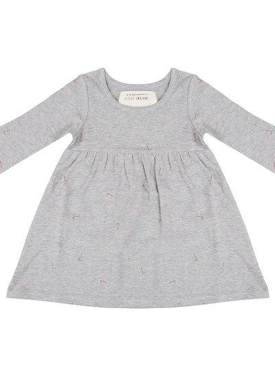 Dress Angle - Grey melange