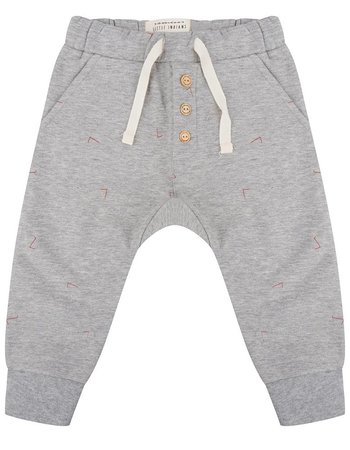 Pants Angle - Grey Melange