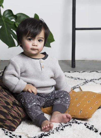 Knit Sweater - Light Grey