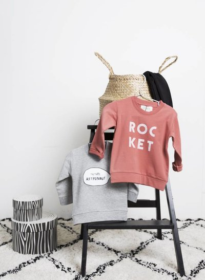 Sweater Future Astronaut - Grey Melange