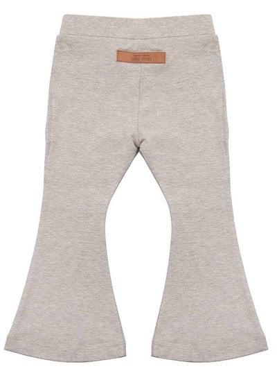 Flared Pants - Grey Melange
