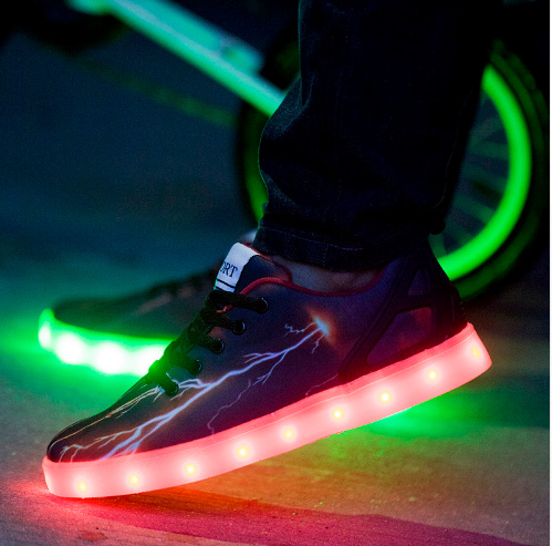 a5fb9bf752ca87 LED Schuhe flame - easy Shopping
