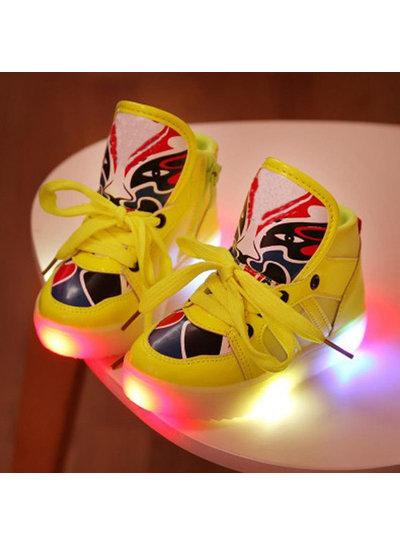 Trimodu LED Kinderschuh K09 yellow