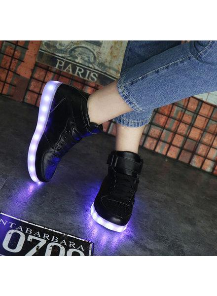 Trimodu LED Schuhe black S13