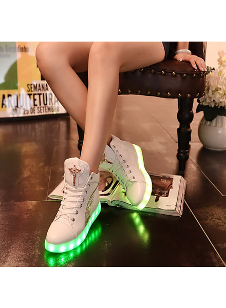 Trimodu Damen LED Schuhe S12