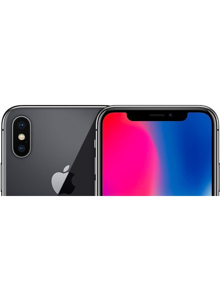 Apple Apple iPhone X 256 GB space grau