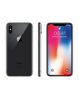 Apple Apple iPhone X 64 GB space grau