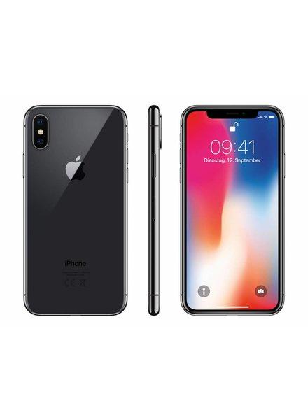 Apple Apple iPhone X 64 GB space grau