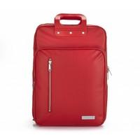 thumb-Roter Vinyl City Laptop Rucksack-1