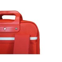 thumb-Roter Vinyl City Laptop Rucksack-3