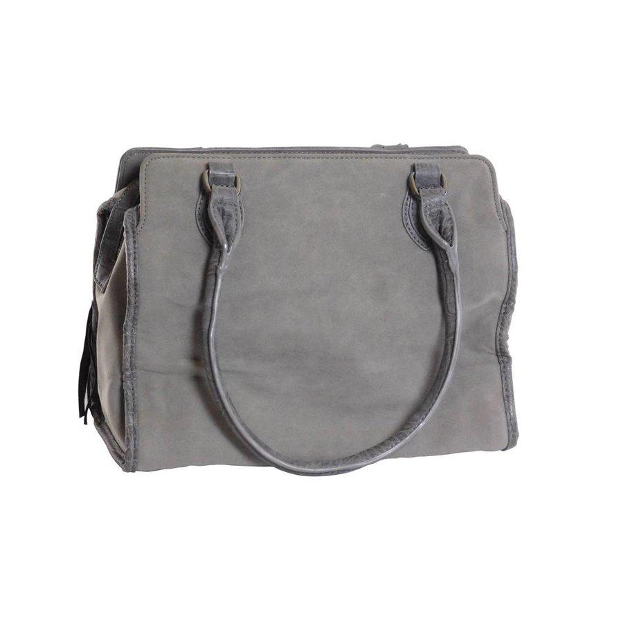 Handtasche mit Fransen-3