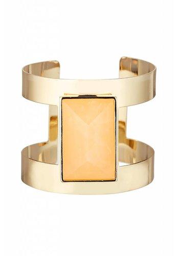 Torrente Schmuck  Goldfarbig/Orange Armband