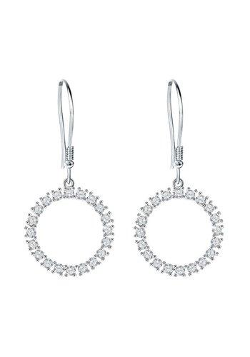 Diamond Style Swarovski Element Haken Ohrringe